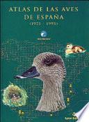 Atlas de las aves de España