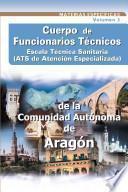 Ats/due de Atencion Especializada de la Comunidad Autonoma de Aragon. Temario Volumen Iii. E-book