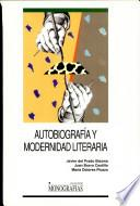 Autobiografía y modernidad literaria