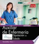 Auxiliar de Enfermería. Diputación de Toledo. Temario Vol. I.