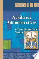 Auxiliares Administrativos Del Ayuntamiento de Sevilla. Temario. E-book