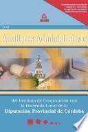 Auxiliares Administrativos Del Instituto de Cooperacion Con la Hacienda Local de la Diputacion Provincial de Cordoba.test Ebook