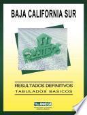 Baja California Sur. Conteo de Población y Vivienda, 1995. Resultados definitivos. Tabulados básicos
