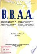 Boletín bibliográfico de antropología americana