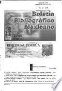 Boletin Bibliografico Mexicano
