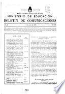 Boletín de Comunicaciones