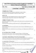 Boletín de investigaciones marinas y costeras