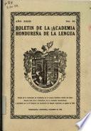 Bolétin de la Academia Hondureña