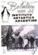 Boletin del Instituto Antártico Argentino