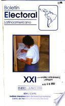 Boletín electoral latinoamericano