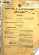 Boletín oficial de las Cortes Generales, Senado