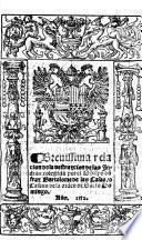 Breuissima relacion de la destruycion de las Indias: colegida por el obispo don fray Bartolome de las Casas, o Casaus ..
