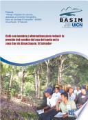 Café con sombra y alternativas para reducir la presión del cambio del uso del suelo en la zona Sur de Ahuachapán, El Salvador