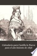 Calendario para Castilla la Nueva para el año bisiesto de 1856