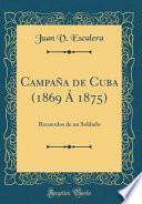 Campaña de Cuba (1869 Á 1875)