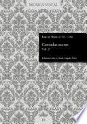 Cantadas sacras Vol. 2