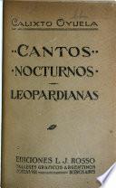 Cantos nocturnos, Leopardianas ...
