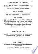 Catálogo de las lenguas