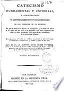 Catecismo fundamental y vniuersal