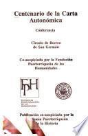 Centenario de la Carta Autonómica