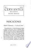Cervantes; revista mensual ibero-americana
