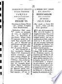 Charissimo en Christo Filio nostro, Hispaniarum Regi Catholico. Pius PP. VI. ... Orthodoxae fidei conservandae & propandae zelus ...