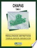 Chiapas. Conteo de Población y Vivienda, 1995. Resultados definitivos. Tabulados básicos. Tomo II