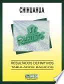 Chihuahua. Conteo de Población y Vivienda, 1995. Resultados definitivos. Tabulados básicos