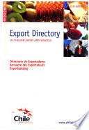 Chilenischer Export-Katalog