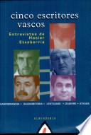 Cinco escritores vascos