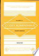 Codex Alimentarius.Requisitos generales