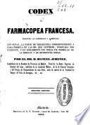 Codex ó farmacopea francesa