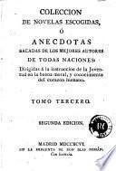 Coleccion de novelas escogidas, ó Anecdotas sacadas de los mejores autores de todas las naciones