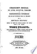 Colección oficial de leyes, decretos, ordenes, resoluciones &c. que se han expedido para el regimen de la Republica Boliviana