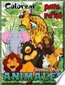 Colorear Animales para Niños