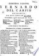 Comedia famosa, Bernardo del Carpio en Francia