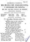 Comedia famosa, el Rayo de Andalucia, y genizaro de España, part 2