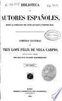 Comedias escogidas de Frey Lope Felix de Vega Carpio