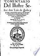 Comentario del Illustre Señor don Luis de Avila y Çuniga , comendador mayor de Alcantara, de la Guerra de Alemaña, hecha de Carlo V. Maximo Emperador Romano, Rey de España0