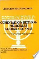 Comentarios hebreos medievales al Libro de Amos