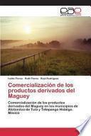 Comercialización de los productos derivados del Maguey