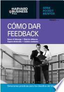 Como dar feedback