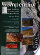Compendio bilingüe de las industrias de base mineral y de la minería argentina