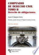 Compendio de Derecho Civil Tomo II