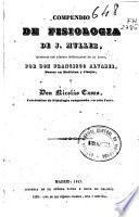 Compendio de fisiologia de J. Muller