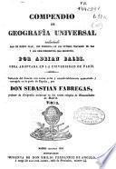 Compendio de Geografía Universal