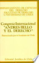 Congreso Internacional Andrés Bello y el Derecho