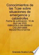 Conocimientos de las Tcae sobre situaciones de emergencia y catástrofes