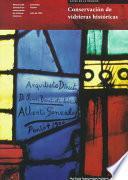 Conservación de vidrieras históricas
