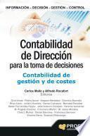 Contabilidad de dirección para la toma de decisiones